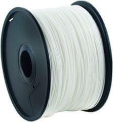 Gembird tlačová struna (filament), ABS, 1,75mm, 1kg, biela (3DP-ABS1.75-01-W)