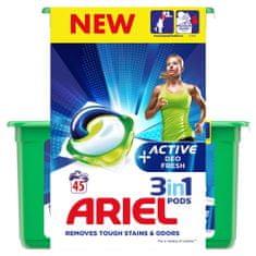 Ariel gel kapsule Active Sport 3in1, 45 kosov