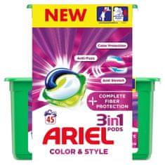 Ariel gel kapsule Complete Shape 3in1, 45 kosov