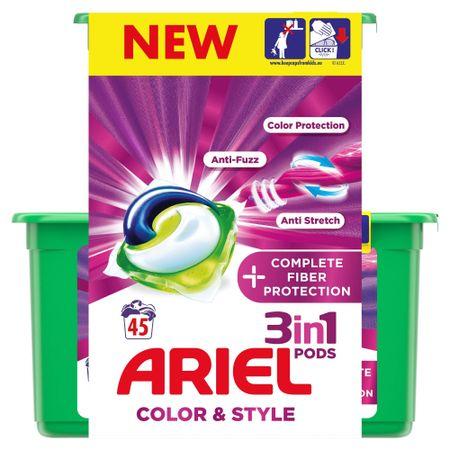 Ariel Gélkapszulák Complete Shape 3 az 1-ben 45 db