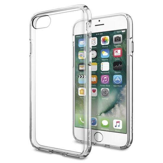 Spigen Ochranný kryt Ultra Hybrid pro Apple iPhone 8/7/SE 2020, transparentní 042CS20443