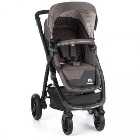 Petite&Mars sedež za voziček Vario, temno siv
