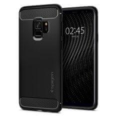 Spigen Ochranný kryt Rugged Armor pro Samsung Galaxy S9, černý 592CS22834