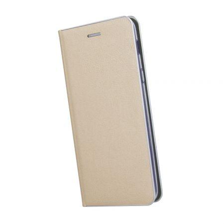Havana preklopna torbica Premium za Huawei Mate 20 Lite, zlata s srebrnim robom