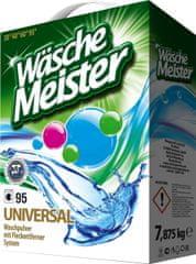 WascheMeister Universal Prací prášek 7,875 kg – 95 praní