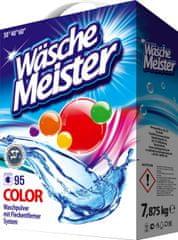 WascheMeister Color Prací prášek 7,875 kg – 95 praní