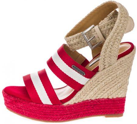 Pepe Jeans ženski sandali Ohara Tape, 37, rdeči