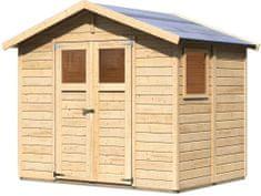 KARIBU dřevěný domek KARIBU DALIN 1 (45281) natur