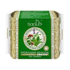 TianDe Dámske bylinné menštruačné vložky nefritovo sviežosť - denná super 10 ks
