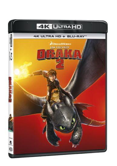 Jak vycvičit draka 2 (2 disky) - Blu-ray + 4K Ultra HD