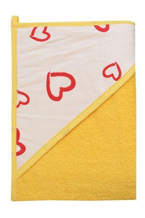 COSING ručnik 320g/m2, 100 x 100 cm, žuti