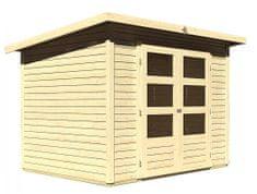KARIBU dřevěný domek KARIBU STOCKACH 3 (82978) natur
