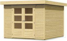 KARIBU dřevěný domek KARIBU ASKOLA 4 (73061) natur