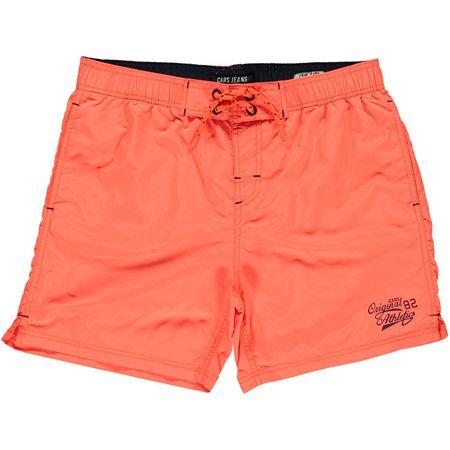 Cars-Jeans Pánské koupací kraťasy Sassari Neon Orange 4305532 (Velikost S)