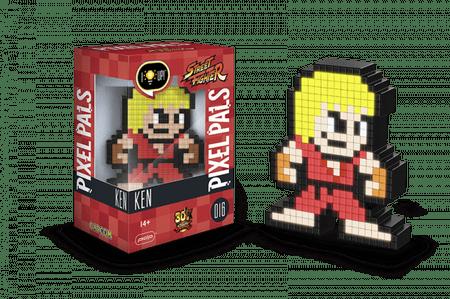 Pixel Pals svetilka Street Fighter, Ken