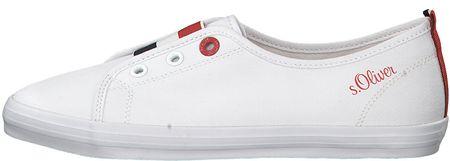 s.Oliver Női cipők White 5-5-24605-32 -100 (méret 37)