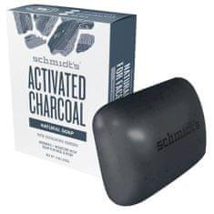 Schmidt's Naturalna toaleta mydło węgiel aktywny (Bar Soap Active C harcoal) 142 g