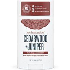 Schmidt's (Signature Cedarwood + Juniper Deo Stick) Solidny dezodorant 58 ml