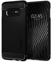 Spigen Ochranný kryt Rugged Armor pro Samsung Galaxy S10e, černý 609CS25837