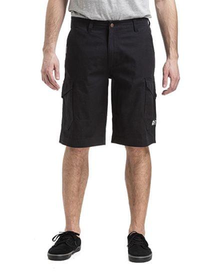 MEATFLY Pánské kraťasy Icon 19 Shorts A-Black (Velikost 34)