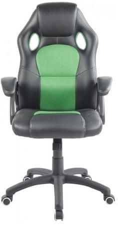 Hyle uredski stolac K-8060, zeleni