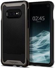 Spigen Ochranný kryt Hybrid NX pro Samsung Galaxy S10e, metalický 609CS25667