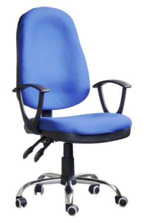 Hyle pisarniški stol K-5118B, moder