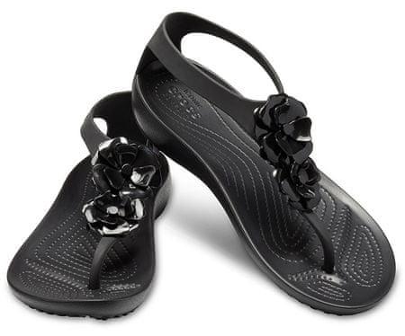 ce1df9a4ca59 Női szandál Serena Díszes Flip W 205600-060 Black / Black (méret 36- ...