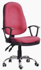 Hyle uredska stolica K-5118B, crvena
