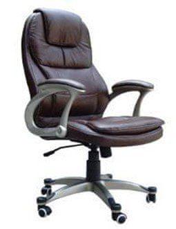 Hyle pisarniški stol K-8893, črn