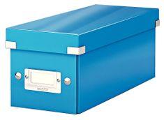 Škatuľa CLICK & STORE WOW na CD, modrá