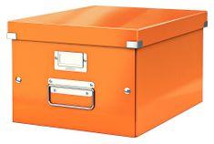 Škatuľa CLICK & STORE WOW strednej archivačné, oranžová