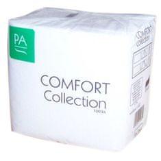 Harmony Obrúsky biele COMFORT Collection 30 x 30, 1-vrstvové / 100 ks