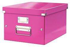 Škatuľa CLICK & STORE WOW strednej archivačné, ružová