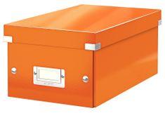 Škatuľa CLICK & STORE na DVD, oranžová