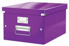 Škatuľa CLICK & STORE WOW strednej archivačné, purpurová