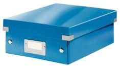 Škatuľa CLICK & STORE WOW malá organizačné, modrá