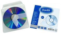 Obal na 1ks CD - samolepiací s klopou 12,5 x 12,5 cm