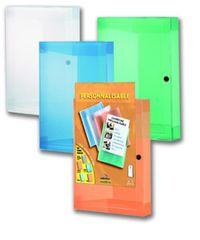 Box na dokumenty A4 s kapsou, mix farieb