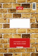 Stavební deník pro velké stavby, 3 x 45+8 L, samopropisovací