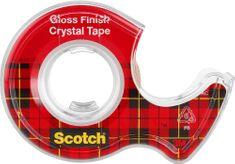 Scotch Lepiaca páska s odvíjačom 19 mm x 7,5 m Crystal
