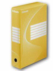 Esselte Krabice archivační žlutá 100 mm