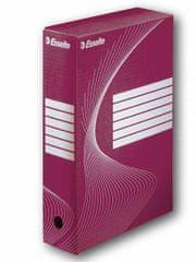 Esselte Krabice archivační červená 80 mm