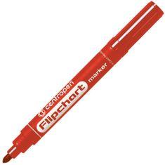 Centropen Značkovač 8550 Flipchart červený