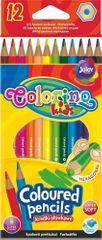 Colorino Pastelky šesťhranné 12 farieb
