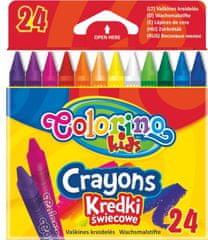 Pastelky voskové Colorino 24 farieb