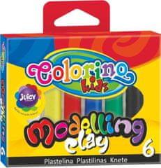 Plastelína Colorino 6 farieb