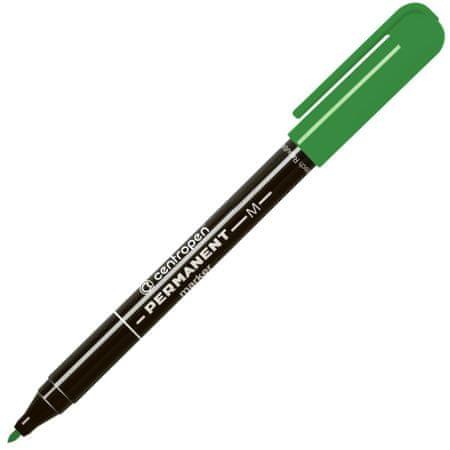 Centropen Popisovač 2846 Permanent zelený
