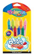 Colorino Pastelky voskové do vany 9 barev