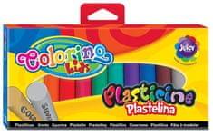 Plastelína Colorino 12 farieb (10 + strieborná a zlatá)